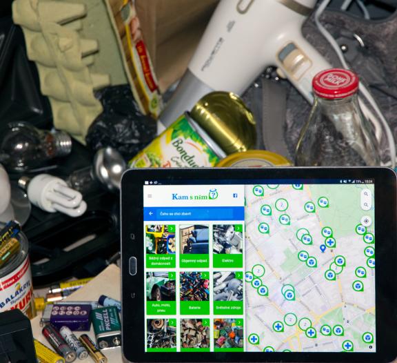 Český Google na odpadky existuje a pomůže vám od odpadu