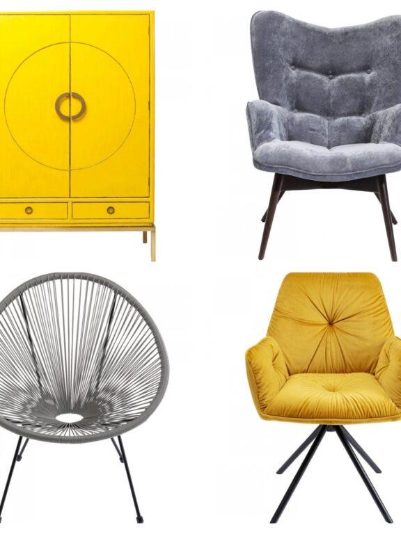 Oživte váš interiér trendy barvami! Roku 2021 bude vládnout sytě žlutá a šedá!