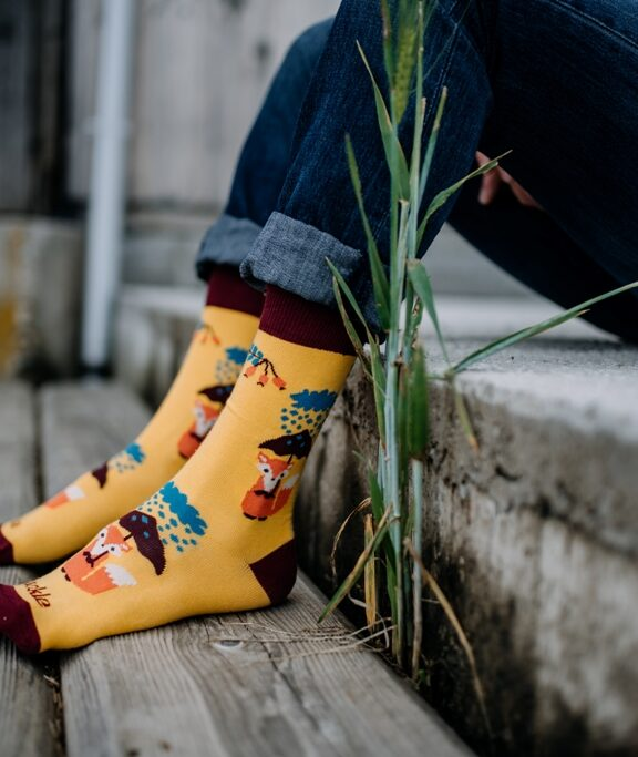 České ponožky Fusakle využívají nové technologie a to nejlepší z minulosti