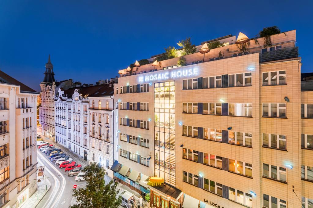 Pražský Mosaic House Design Hotel nově designovali zástupci světové špičky oboru