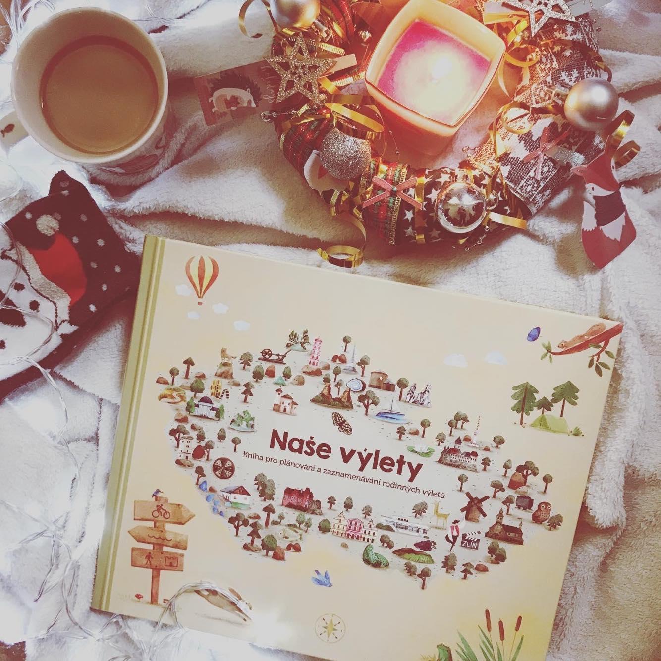 Hledáte ideální rodinný dárek? Zkuste jedinečnou knihu Naše výlety