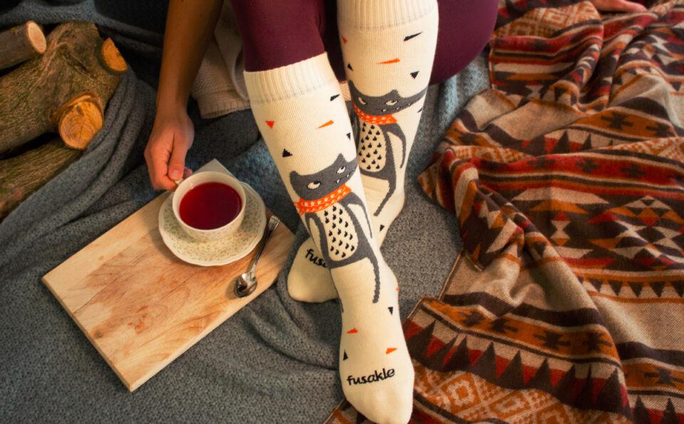 Zima, Vlnáče a Froté – ponožky z nové kolekce značky Fusakle udrží nohy v teple a úsměv na tváři